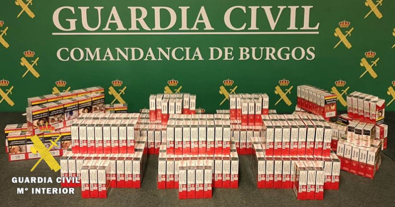 La Guardia Civil aprehende 363 cajetillas de tabaco ilegal en un estanco de la provincia
