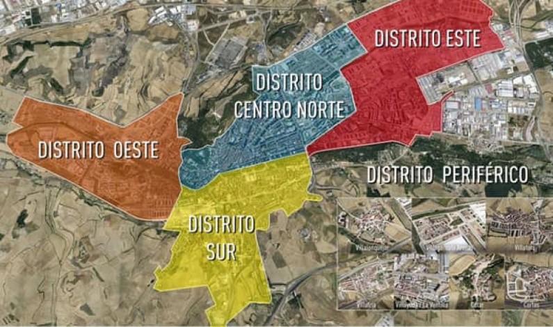 El Ayuntamiento de Burgos constituye esta semana las Juntas de Distritos de la ciudad