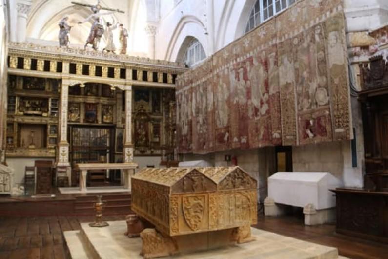 El canal público de televisión France 2 graba en Burgos un programa histórico sobre Blanca de Castilla