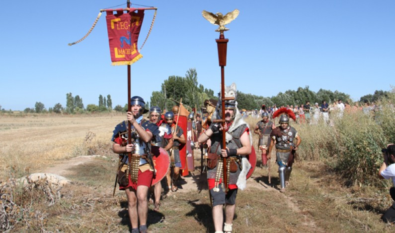 La Legio IV Macedónica acampa en Segisama
