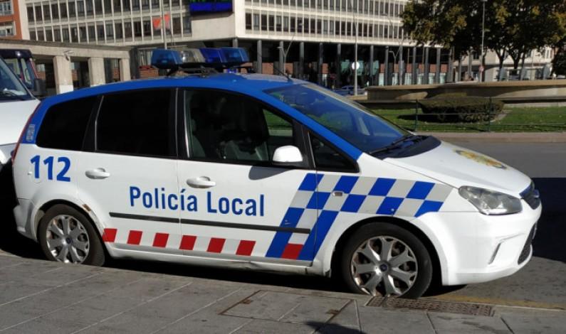 La Policía Local de Burgos levanta esta semana 79 denuncias por infringir el toque de queda