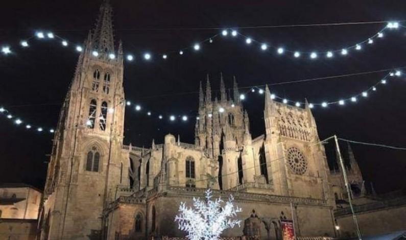 La iluminación navideña llega a Burgos