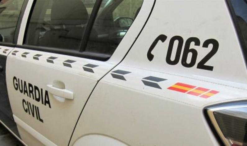 La Guardia Civil detiene a una persona por el robo con fuerza en el interior de una vivienda