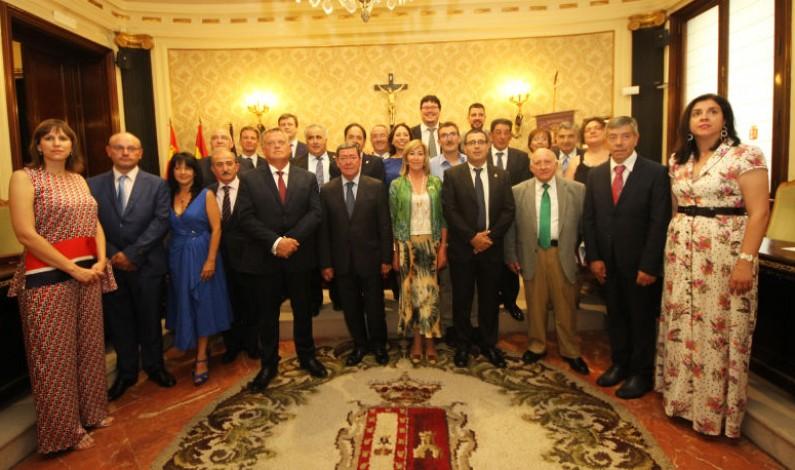 César Rico investido como nuevo presidente de la Diputación.