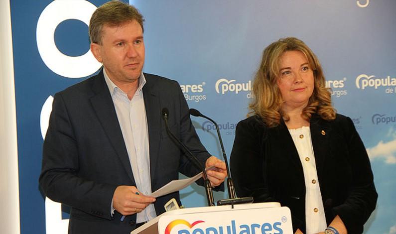 Los senadores del PP por Burgos critican el retraso de la alta velocidad a la provincia