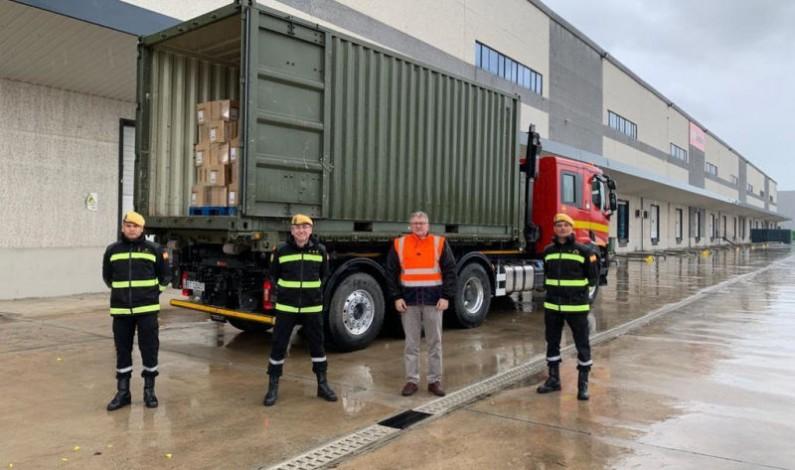 Carrefour dona ropa de cama al hospital de IFEMA