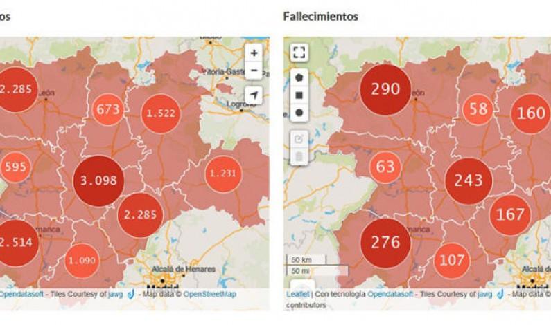 Burgos suma 72 nuevos positivos confirmando 1522 casos, 620 altas y 160 fallecidos