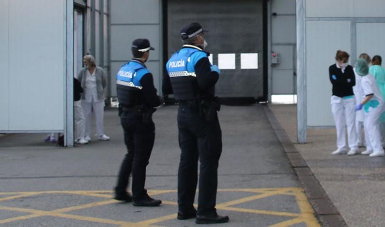 La Junta de Castilla y León reparte material de protección individual a Policía Local, Bomberos y Protección Civil de la provincia