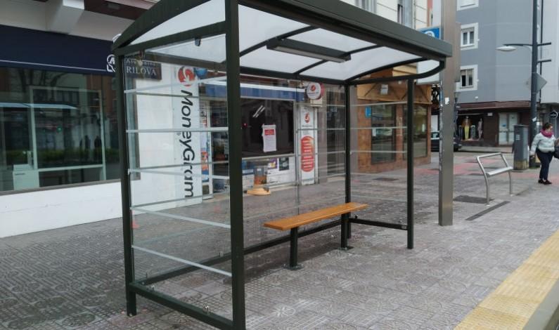 Finalizan las obras de adecuación de 16 paradas de autobús en materia de accesibilidad