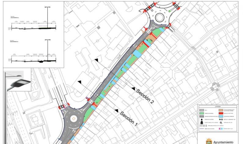Las obras de remodelación de la calle Pozanos comenzarán en mayo