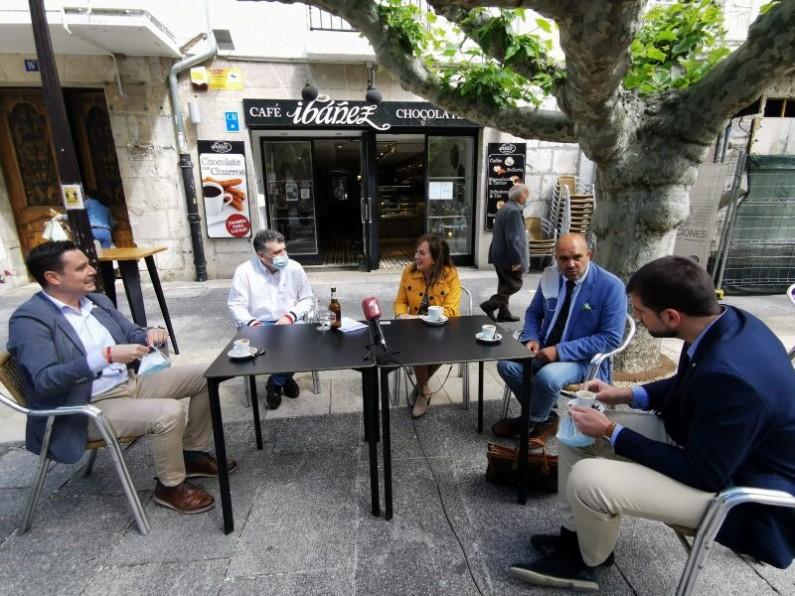 El PSOE y Ciudadanos apoyan las medidas que el sector hostelero ha introducido en la Fase 1 de la desescalada