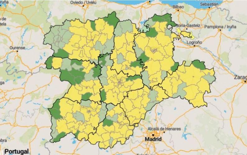 5 ZBS de Burgos pueden pasar a la Fase 1 de la desescalada