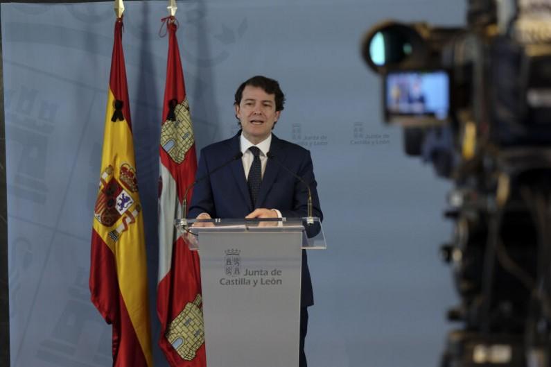 Mañueco anuncia que la Junta pedirá que toda la comunidad pase a la fase 1