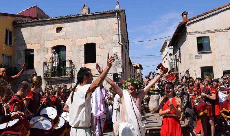 Baños de Valdearados traslada a 2021 la XXI Fiesta Romana en Honor al Dios Baco