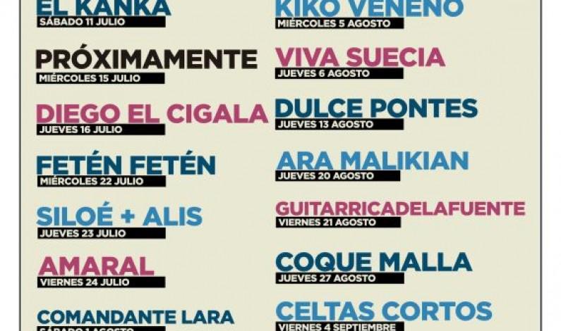 Sonorama Ribera presenta la programación del ciclo de conciertos Viva la Vida en Aranda de Duero