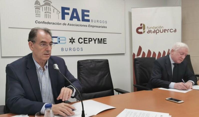 FAE Burgos y la Fundación Atapuerca refuerzan su compromiso