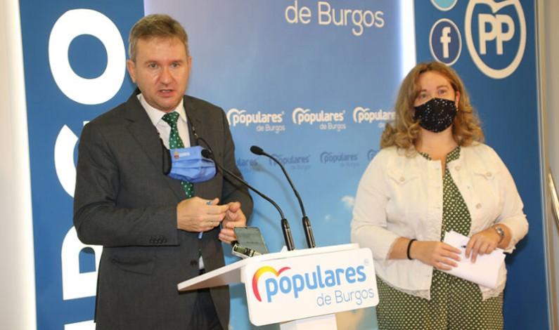 Los senadores del PP defienden en el Senado una moción sobre la Base Militar de Castrillo del Val