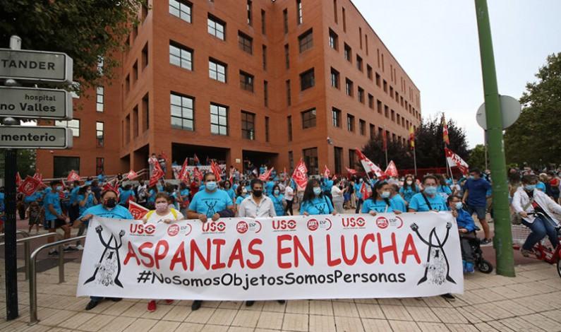 Podemos apoya las reivindicaciones de familias y trabajadores de Aspanias y exige a la Junta una solución para la entidad