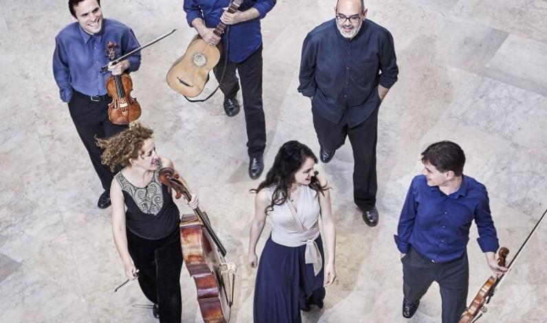 Alicia Amo, junto al grupo Musica Boscareccia, ponen fin al VI Festival de Música Antonio de Cabezón