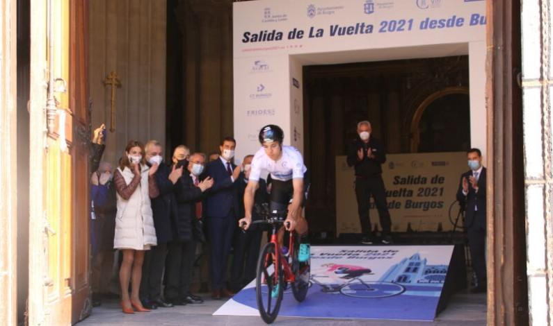 Burgos, la próxima salida de La Vuelta a España en 2021