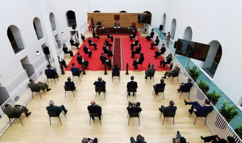 El Tribunal Superior de Justicia de Castilla y León celebra la apertura del Año Judicial 2020-2021