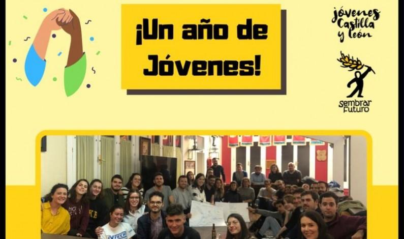 Jóvenes de CyL celebra su primer aniversario con su crecimiento y movilización en la comunidad autónoma