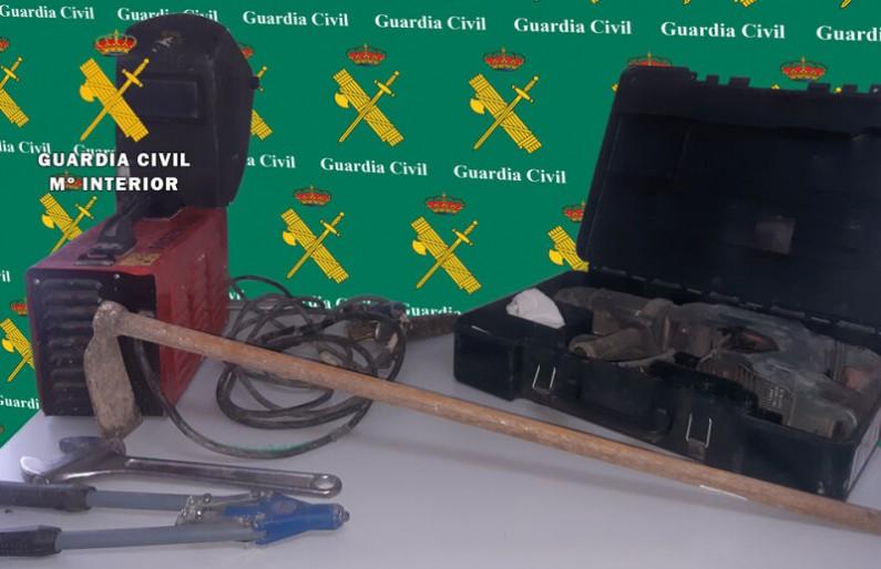 La Guardia Civil detiene al autor de un hurto en un centro de formación profesional