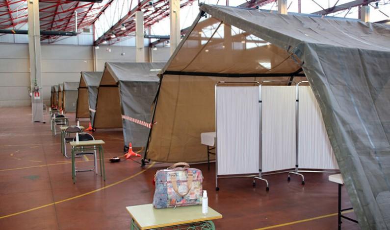Atención Primaria inicia el cribado con test masivos de COVID-19 en Burgos este fin de semana y se prolongará hasta el día 28 de noviembre en el complejo de El Plantío