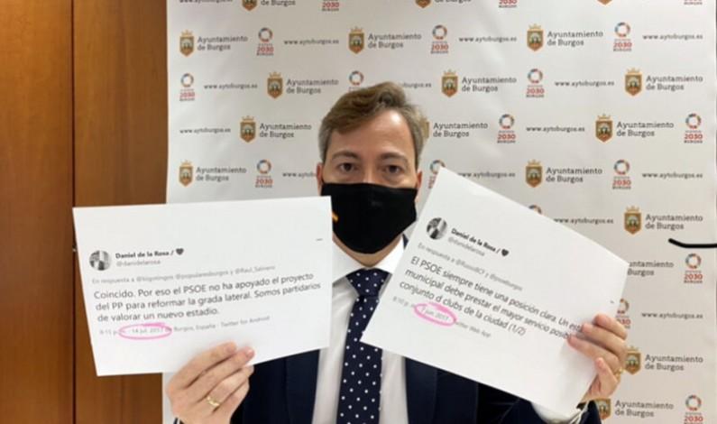 El Partido Popular solicita al equipo de Gobierno garantías ante el conocimiento del déficit en las cuentas del Burgos CF SAD
