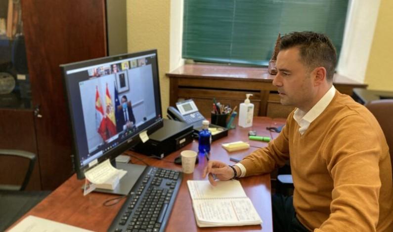 El alcalde de Burgos exige a la Junta que asuma sus compromisos con los sectores económicos más afectados