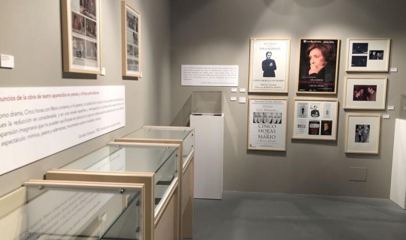 La exposición «Miguel Delibes y Diario de Burgos» llega al Valle de Sedano este sábado
