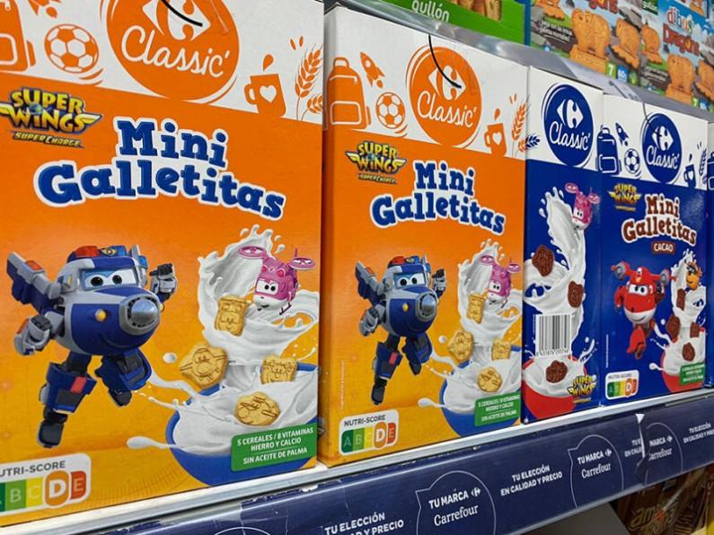 Carrefour apuesta por el tamaño «mini» en los surtidos de galletas