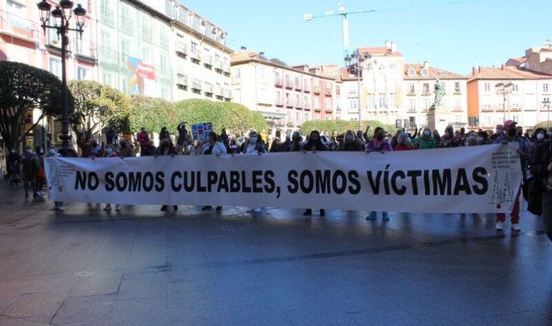 La hostelería se manifiesta en protesta por las medidas impuestas por la Junta de Castilla y León y la falta de ayudas al sector