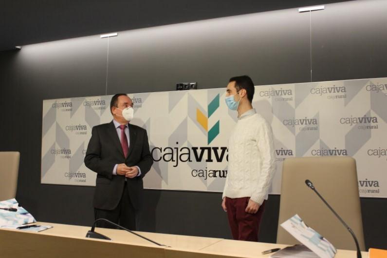 CajaViva Caja Rural y AJE firman un convenio de colaboración basado en la fortaleza, finanzas y formación
