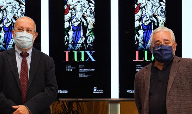 La Junta y la Fundación Las Edades del Hombre presentan la imagen promocional de 'LUX', la nueva exposición en Burgos, Carrión de los Condes y Sahagún 2021