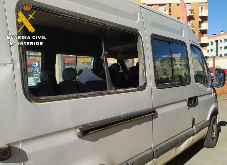 La Guardia Civil detiene a un conductor implicado en un accidente de circulación
