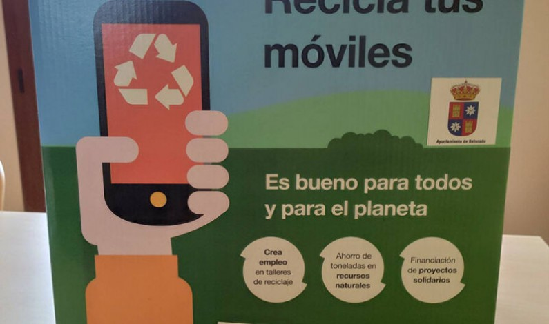 El Ayuntamiento de Belorado y Orange promueven una campaña solidaria de reciclaje de móviles a favor de Cruz Roja Belorado