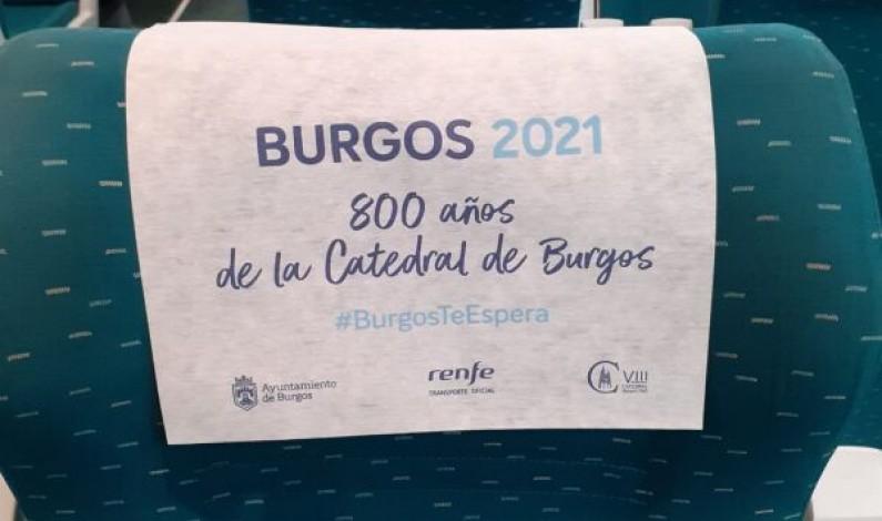 Burgos y el VIII Centenario de la Catedral de promoción turística con RENFE