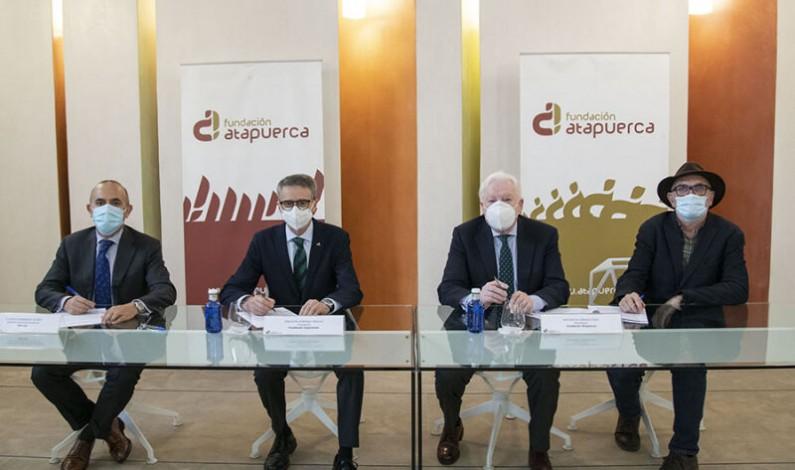 Convenio de colaboración entre las Fundaciones Cajacírculo e Ibercaja y Fundación Atapuerca
