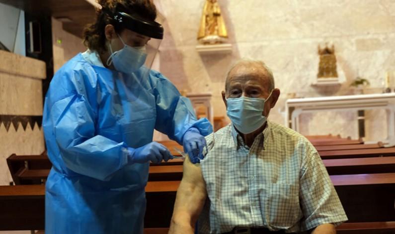 La provincia de Burgos recibirá 18.410 dosis esta semana para hacer frente a la covid-19