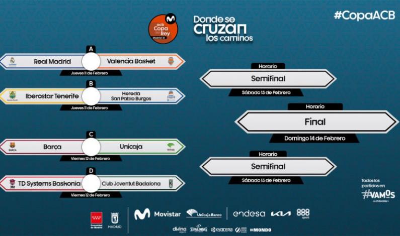 El Hereda San Pablo Burgos se enfrentará a Iberostar Tenerife en el partido de cuartos de final de la Copa del Rey