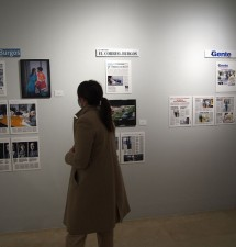La exposición 'Prensa escrita de CyL en tiempos de la COVID-19' homenajea en Aranda de Duero la cobertura informativa durante la pandemia