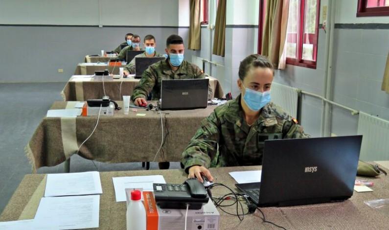 Los rastreadores del Ejército de Tierra localizan más de 100.000 contactos estrechos en Castilla y León
