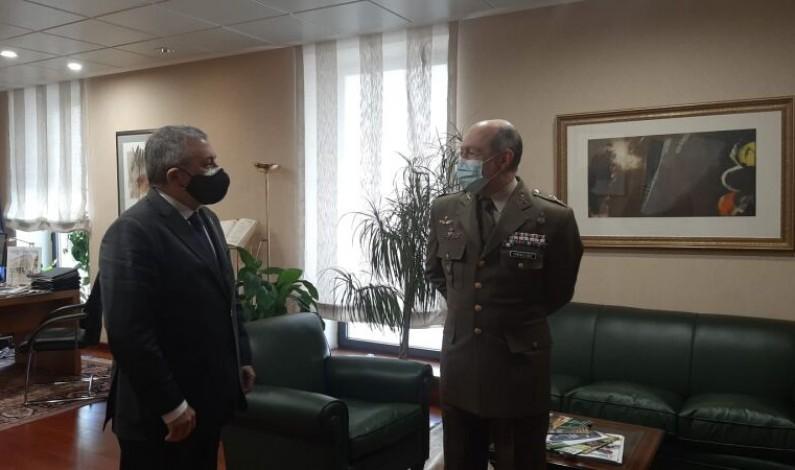 El subdelegado agradece al Ejército su apoyo y colaboración para combatir la pandemia en Burgos