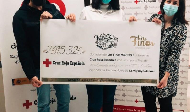 La carrera solidaria y virtual Wychyzuli hace la entrega del total de sus beneficios a Cruz Roja