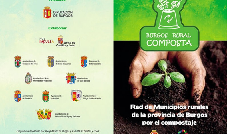 La Diputación de Burgos amplía la red rural por el compostaje doméstico
