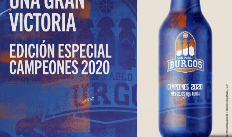 Cervezas San Miguel lanza una edición especial en homenaje al Hereda San Pablo Burgos