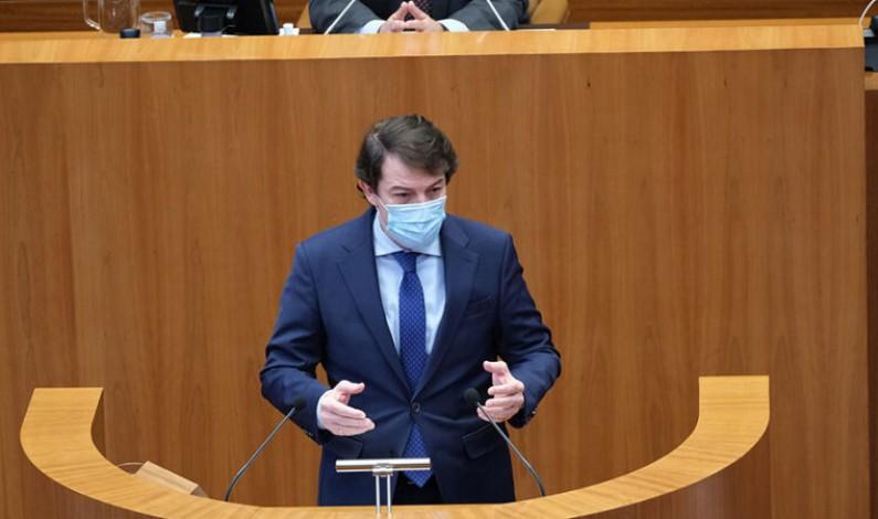 Mañueco defiende las medidas tomadas por la Junta contra la pandemia