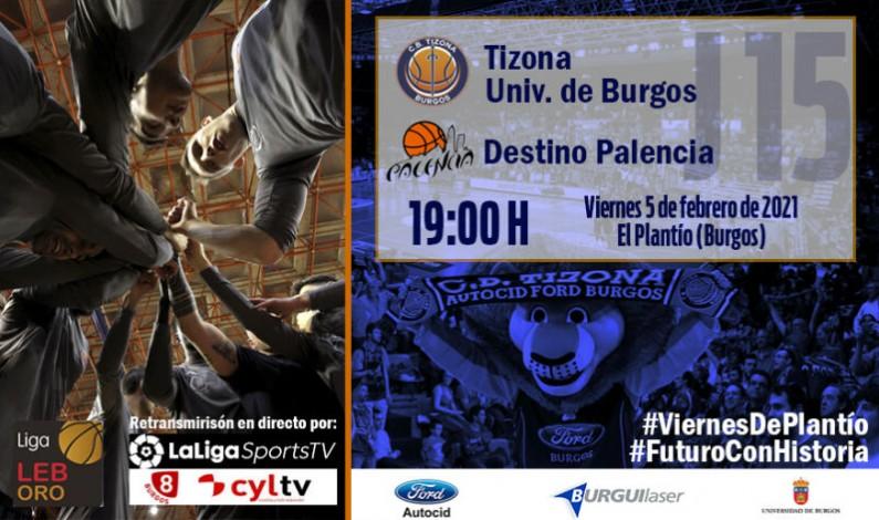 El Tizona Universidad de Burgos se enfrenta a un derbi de máxima importancia frente al Destino Palencia