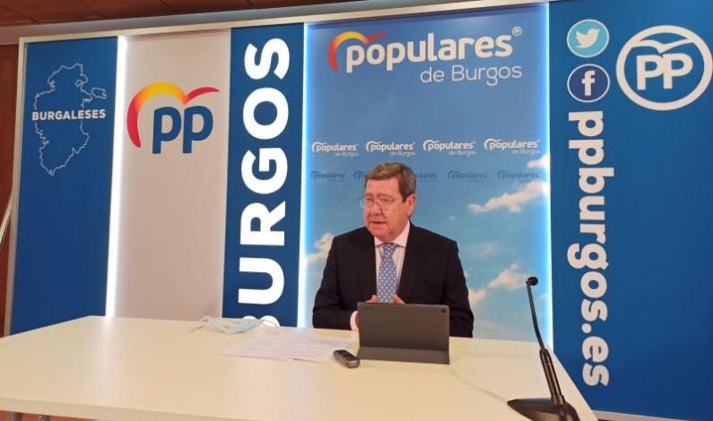 César Rico: «El anuncio de la supresión del impuesto de sucesiones y donaciones demuestra que Mañueco es un hombre de palabra»